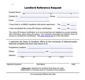 sample landlord reference template 9 free documents in