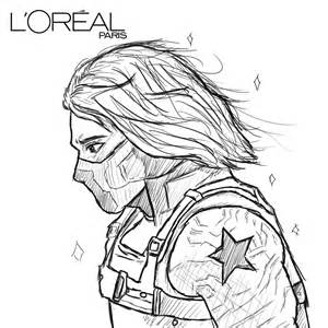 how to draw bucky barnes because you re worth it bucky by air ees on deviantart