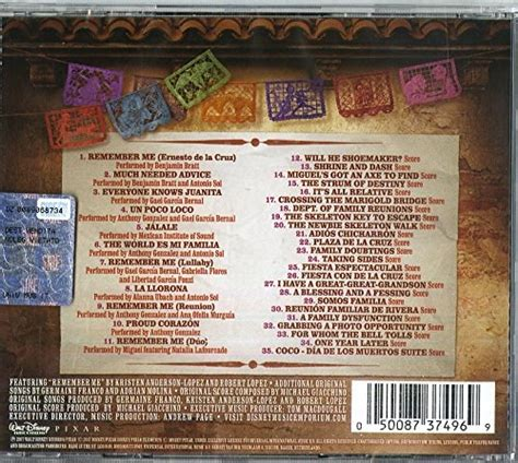 coco ost lyrics soundtrack disney coco