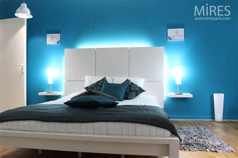 electric blue room  mires paris