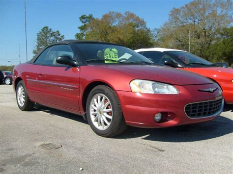 2001 Chrysler Sebring by 2001 Chrysler Sebring Information And Photos Zombiedrive