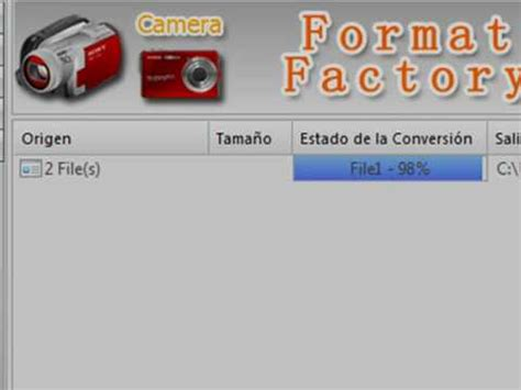 format factory unir videos tutorial unir videos con format factory 2 30 youtube