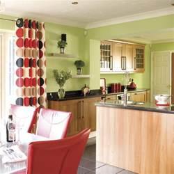 Colors Green Kitchen Ideas Decorating With Contrasting Colours Housetohome Co Uk