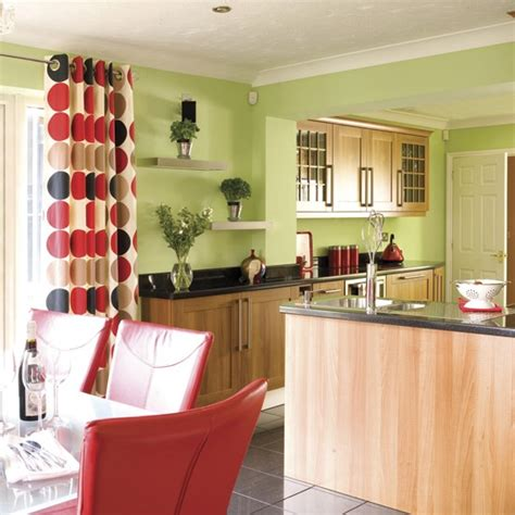 green and red kitchen ideas decorating with contrasting colours color wheels