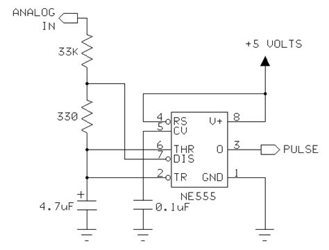 analog digital interface integrated circuits 555 timer as an analog to digital converter eeweb community