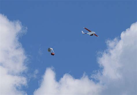 designboom drone zipline uses drones to deliver necessary medical needs in
