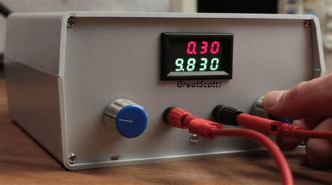 build a bench power supply video the variable lab bench power supply a great tool
