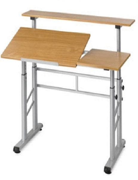 Height Adjustable Split Level Drafting Table The Ergonomic Drafting Table