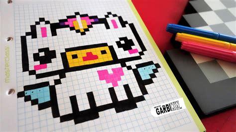 Handmade Minecraft - handmade pixel how to draw kawaii unicorn pixelart