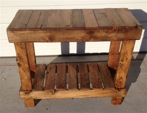 pallet entry table for the home