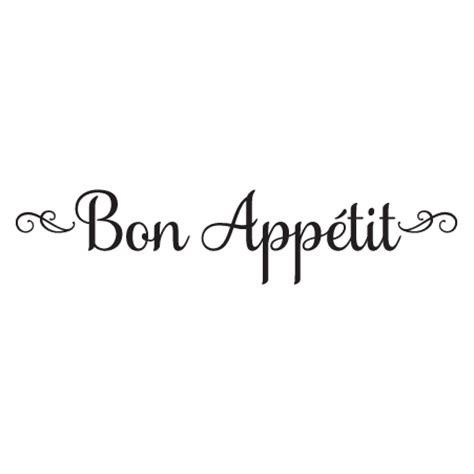 Kitchen Design Rules elegant script bon app 233 tit wall quotes decal wallquotes com
