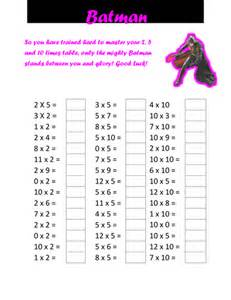 times table tests by cellerdore teaching
