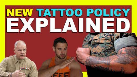 new tattoo policy usmc new usmc tattoo policy explained 2016 youtube