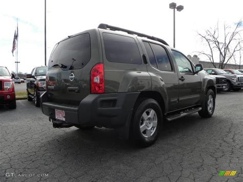 2005 canteen green metallic nissan xterra s 25964608 photo 3 gtcarlot car color galleries