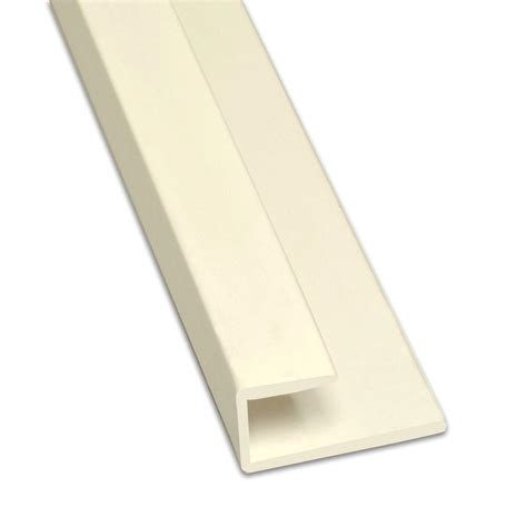 Frp Wainscot 8 Ft Frp Almond Cap Moulding 9440wa The Home Depot