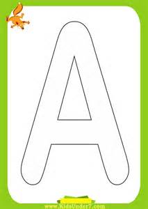 coloring pages kids under 7 alphabet coloring pages