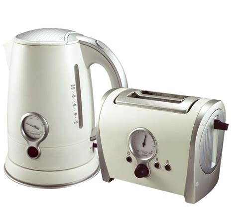 Matching Toaster And Kettle Sets cordless kettle and toaster matching retro white 2 slice toasters new ebay