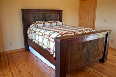 barn wood bed barnwood bed project buildsomething com