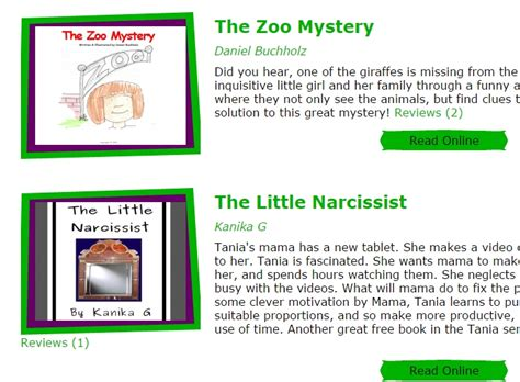 read free 5 free website to read story books for