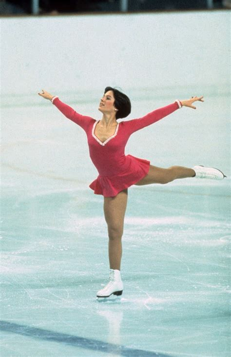 female olympic skater 70s best olympic ice skating costumes outfits glamour