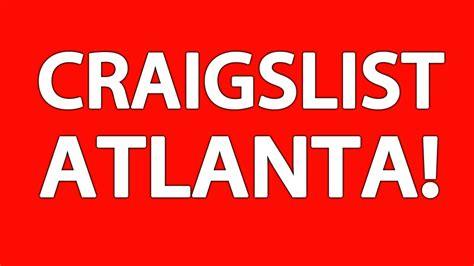 craigslist atlanta youtube
