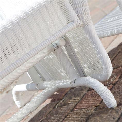 white wicker loveseat outdoor white resin wicker outdoor 2 seat loveseat glider bench