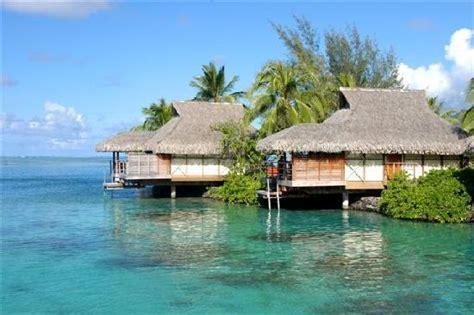 best overwater bungalows in moorea overwater bungalow exterior intercontinental moorea