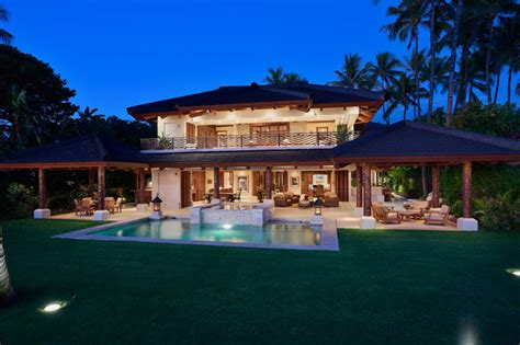 bali house designs bali house tropical exterior hawaii by rick ryniak