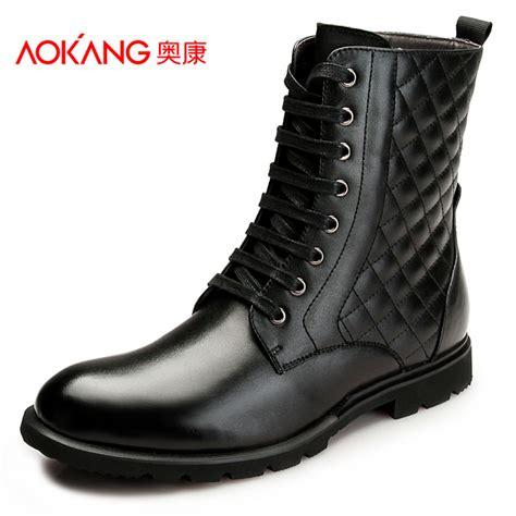 aliexpress buy aokang 2016 mens martin boots