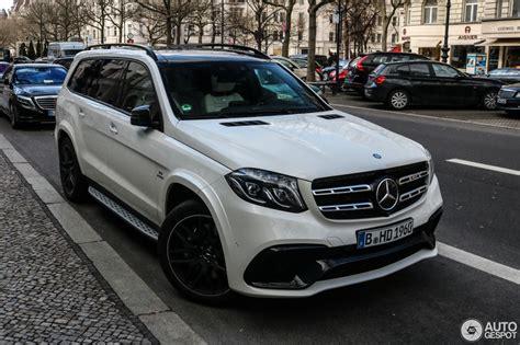 2017 Mercedes Gls 63 Amg by Mercedes Amg Gls 63 28 Februar 2017 Autogespot