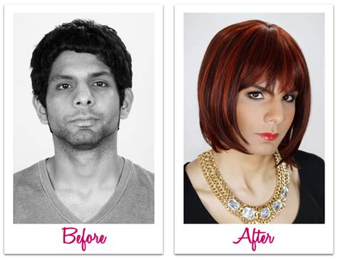 man to woman makeover makeover male female transformations