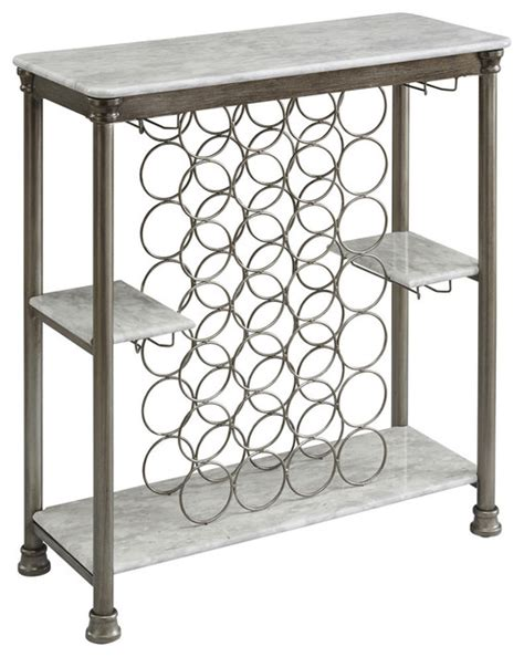 Wine Rack Orleans by Orleans Storage Wine Rack Silver Transitional Wine And Bar Cabinets By Home Styles Furniture