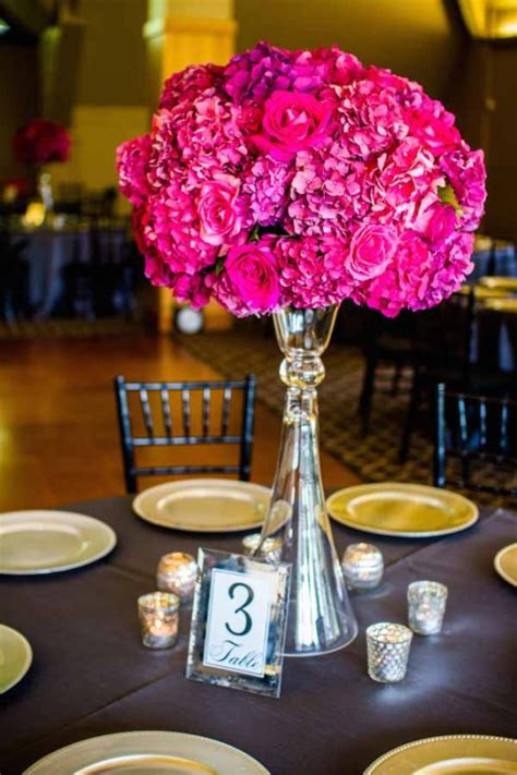 pink flower centerpieces for weddings wedding wednesday elevated floral centerpieces flirty
