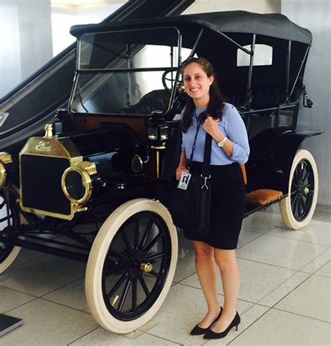 Ford Treasury Mba Intern by A Conversation With Goldstein Ford Motor Company