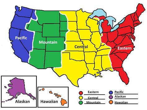 map of usa with states and timezones united states time zones new calendar template site