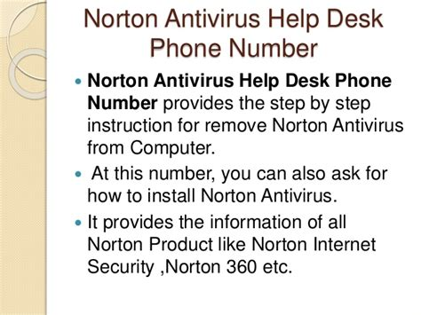 norton help desk phone number how to uninstall norton antivirus from computer