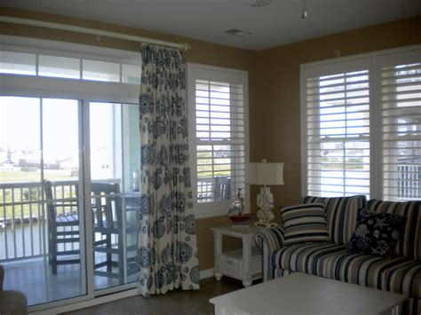 house window shades window treatments for sliders dining room eclectic with blue pillow casual dining
