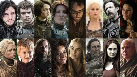 100 game of thrones characters ranked from good to evil