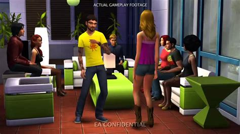 the sims 4 leaked video trailer youtube the sims 4 leaked video compilation beta dev footage