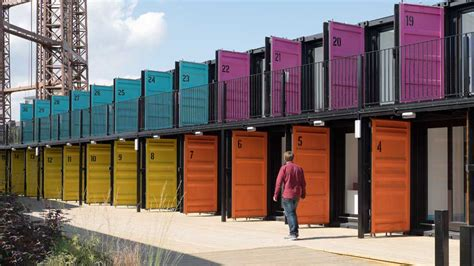 Container Home Interior Design Building4change Image Of The Week Containerville London