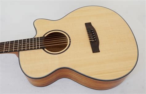 Best Handmade Acoustic Guitars - aiersi brand handmade 40 inch solid top acoustic guitar