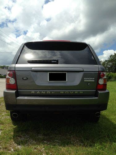 2008 range rover sport engine purchase used 2008 land rover range rover sport