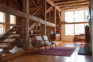 Gambrel Roof Barn Plans by A Rural 1800s Barn Becomes A Modern Home Design Sponge