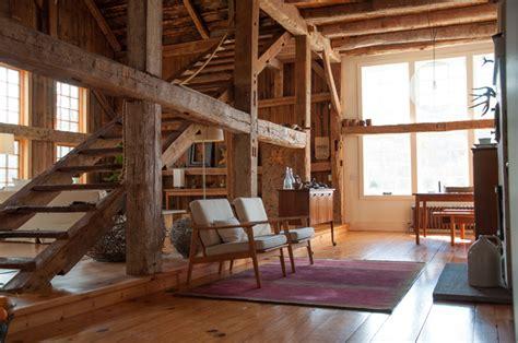 Gambrel Barn Kits a rural 1800s barn becomes a modern home design sponge