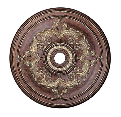 Medallions For Light Fixtures 40w Seville Palacial Bronze Ceiling Medallion Lighting Accessory Livex 8211 64 Ebay