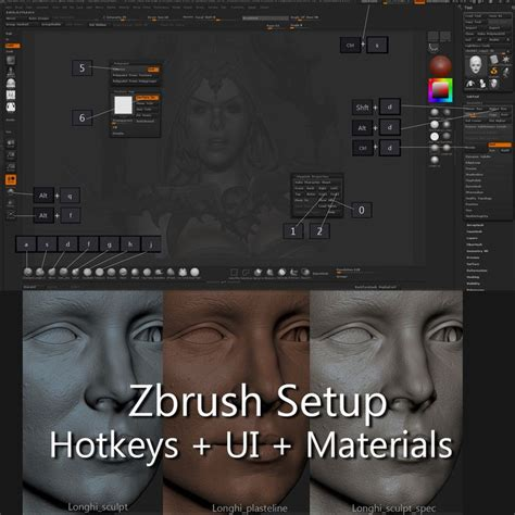 zbrush noise tutorial mejores 176 im 225 genes de brushes basemeshs alphas