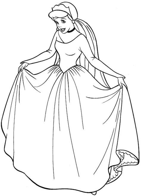 real cinderella coloring pages 공주님 시리즈 1 신데렐라 색칠공부 cinderella coloring 네이버 블로그