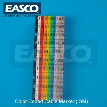 easco color coded wire numeric marker supplier buy wire