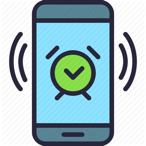 Alarm Mobil alarm app clock mobile phone vibrating icon icon search engine