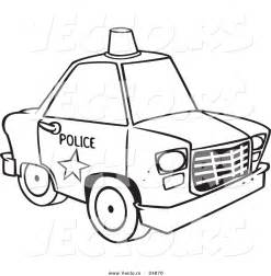 police motorway car free colouring pages